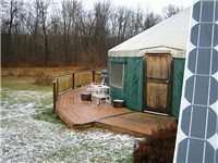 Yurts in Accord