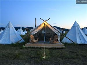 Luxury Tents in West Yellowstone