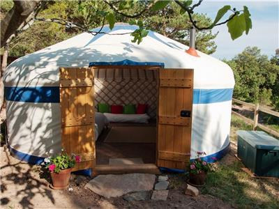 Yurt Camping in Spain Accommodations  