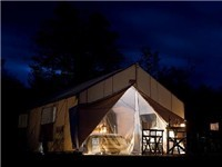 Luxury Tents in Estancia Lago Rosario