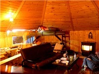 The Bunkhouse yurt
