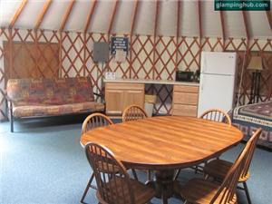 Yurts in Lodi