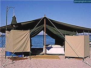 Luxury Tents in Isla Espíritu