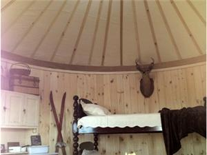 Yurts in Highland