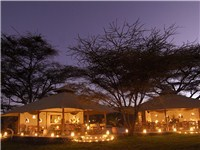 Luxury Tents in Shaba