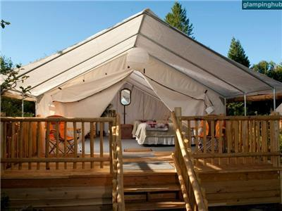 Deluxe Tents in Washington State Accommodations  