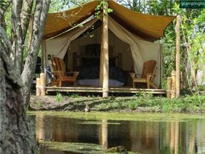 Luxury Tents in Dunnville