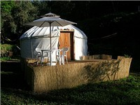 Yurts in Pedrogao Grande