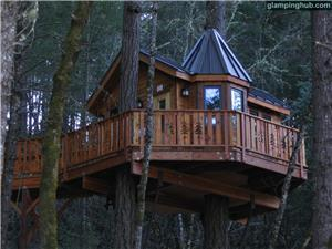 Tree House in Cave Junction
