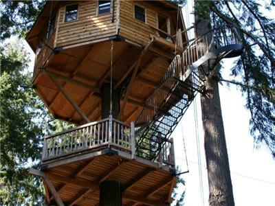 High End Treehouses in the US Accommodations  