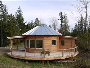 Smiling Woods Yurts - Company in Carlton