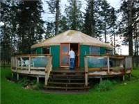 Yurt after Rain
