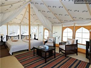 Glamping Tents with Amazing Views Accommodations  