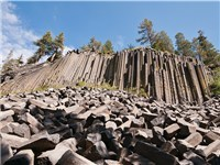 Devils Postpile National Monument - Summer Attraction in Mammoth Lakes