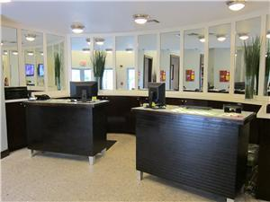 Hotel's Front Desk - Your check-in spot!