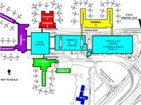 FLL Terminals' Map