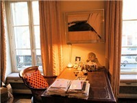 Pleasant place to  write your Paris Blog