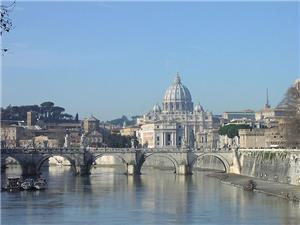 Vatican City  From the River