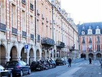 La Place des VosgesI, and its Historic Arcade