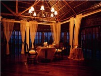 Dining at The Palms, Zanzibar