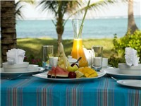 Tropical Breakfast,The Palms, Zanzibar