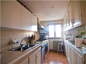 The Kitchen  is Large, New, and Fully Equipped