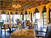 The Dining room - The Palms, Zanzibar