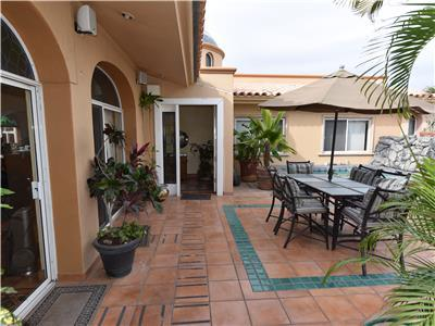 Casa Bonita has a great outdoor area
