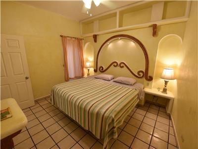 The casita bedroom