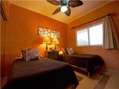 Guest Bedroom has 2 twin beds