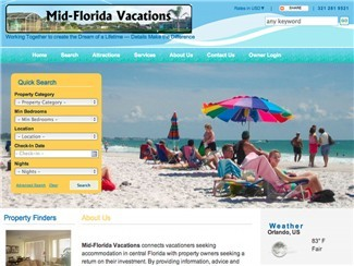 Mid-Florida Vacations