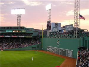 Fenway Park is a 15- 20 minute walk
