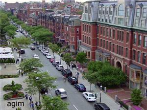 Shot of Newbury Street #1