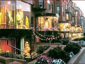 Shot of Newbury Street #2