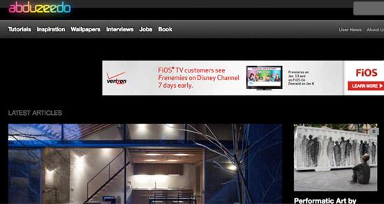 Abbuzeedo Website Header
