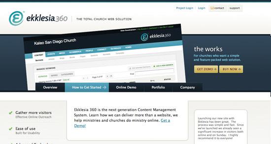 Ekklesia Website Header