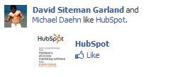 A Social Example of a Facebook Advertisement