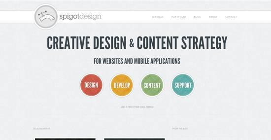 spigot design home page