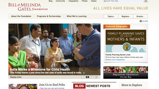 How Bill and Melinda Gates Foundation Gets Donors and Volunteers
