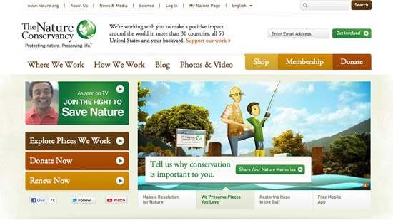 Nature Conservancy Calls To Action