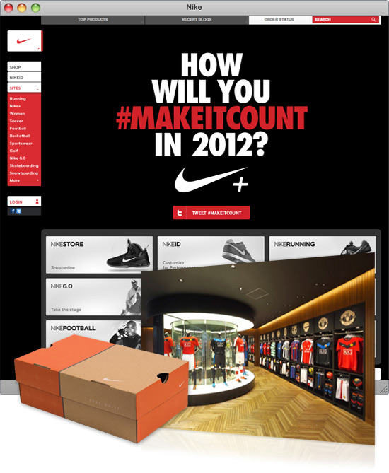 nike marketing communication mix Nike's china problem nike also has plans to increase partnerships with this mix of a fashion and sports image is a good fit for a.