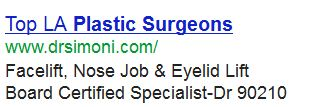 LA plastic surgeon