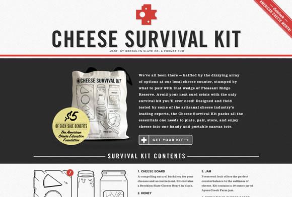 cheese survival kit