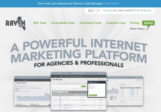 Raven Internet Marketing Tools