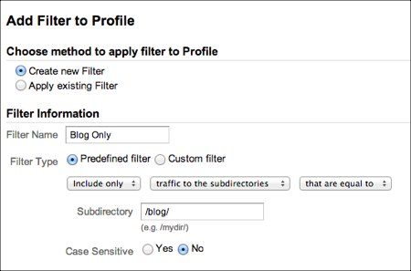 View Your Blog Data Only In Google Analytics