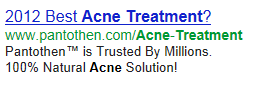 2012 best acne treatment