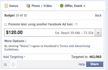 facebook-offers-budget