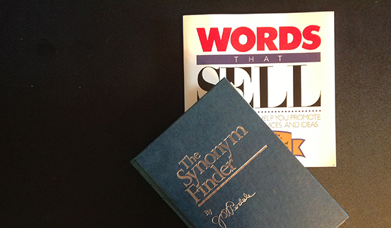 thesaurus and Words That Sell