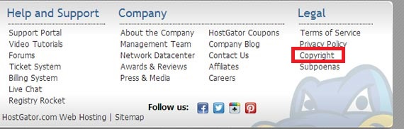 hostgator-dmca