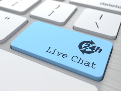 Live chat helps with conversion optimization